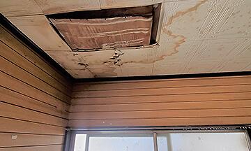 雨漏りシロアリ被害/建物自体の劣化